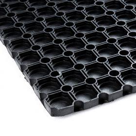 Tappeto in gomma forata  40x60 cm - fondo chiuso