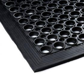 Tappeto in gomma forata 80x120 cm - con bordo
