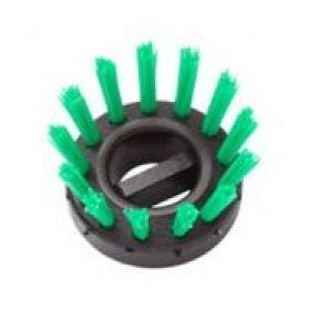 spazzola ad incastro epr taapetino in gomma -verde