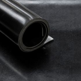 Gomma liscia - SBR -  Spessore 15 mm - 100 x 100 cm